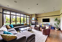 803-Solar-Glenview - FamilyRoom - Globex Developments Custom Homes