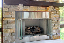 803-Solar-Glenview - Fireplace Detail - Globex Developments Custom Homes