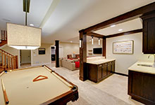 803-Solar-Glenview - Great-Room-Bar-Entry - Globex Developments Custom Homes
