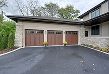803-Solar-Glenview - Garage View, Detail - Globex Developments Custom Homes