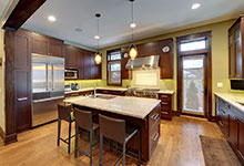 803-Solar-Glenview - Kitchen-Entryway - Globex Developments Custom Homes