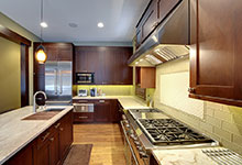 803-Solar-Glenview - Kitchen-Walkway - Globex Developments Custom Homes