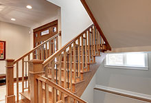 803-Solar-Glenview - Staircase-Basement - Globex Developments Custom Homes