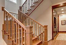 803-Solar-Glenview - Staircase-Hallway - Globex Developments Custom Homes