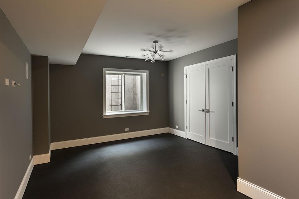 825-Lenox-Glenview - Basement, Gym Room - Globex Developments Custom Homes