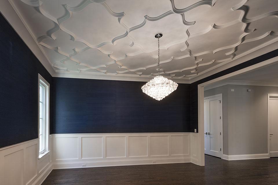 825-Lenox-Glenview - Dining Room, Ceiling - Globex Developments Custom Homes