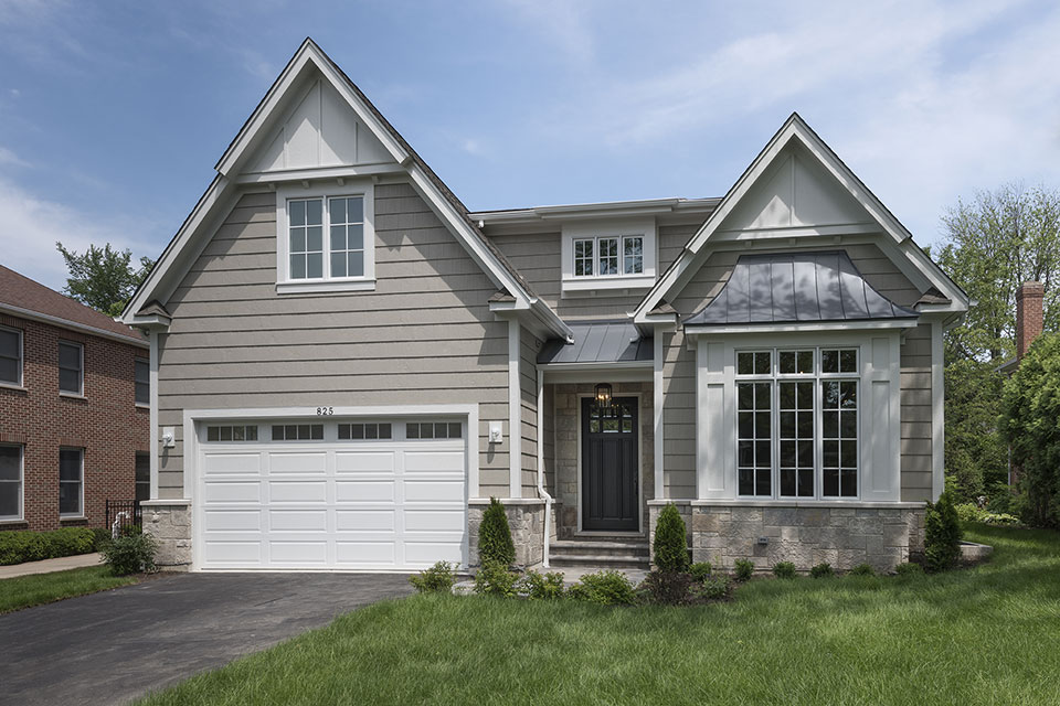 825-Lenox-Glenview - Front Elevations - Globex Developments Custom Homes