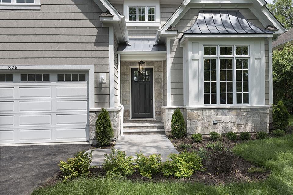 825-Lenox-Glenview - Front Entrance - Globex Developments Custom Homes