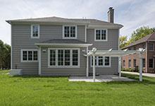 825-Lenox-Glenview - Back Elevations - Globex Developments Custom Homes