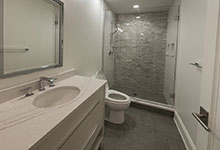 825-Lenox-Glenview - Basement Bathroom, Vanity - Globex Developments Custom Homes