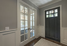 825-Lenox-Glenview - DB 311PW_Mahogany Espresso Front Door, Office Double Doors - Globex Developments Custom Homes