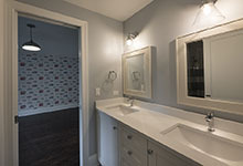 825-Lenox-Glenview - Second Floor Bathroom, Vanity - Globex Developments Custom Homes