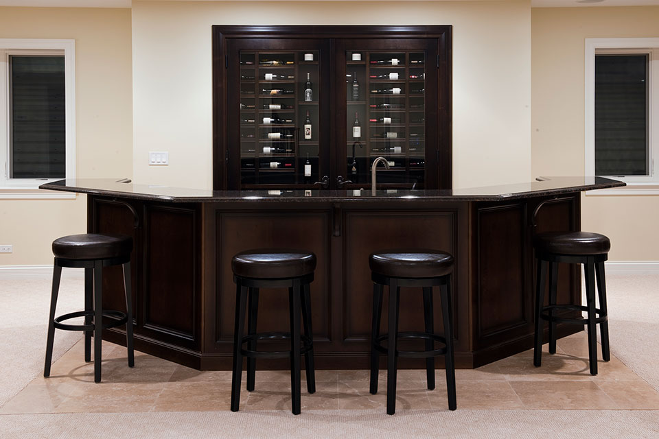 836-Surrey - Basement-Winery-Bar - Globex Developments Custom Homes