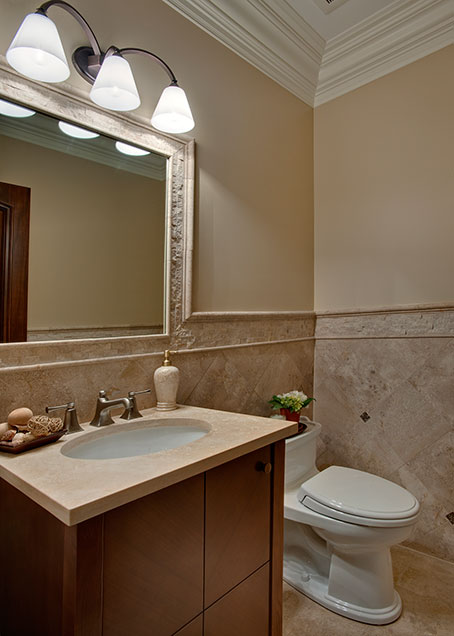 836-Surrey - PowderRoom - Globex Developments Custom Homes