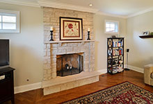 920-Crescent - FamilyRoom-Fireplace - Globex Developments Custom Homes