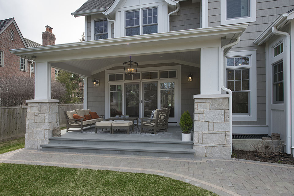 Glenview-Coastal - Backyard,-Porch - Globex Developments Custom Homes