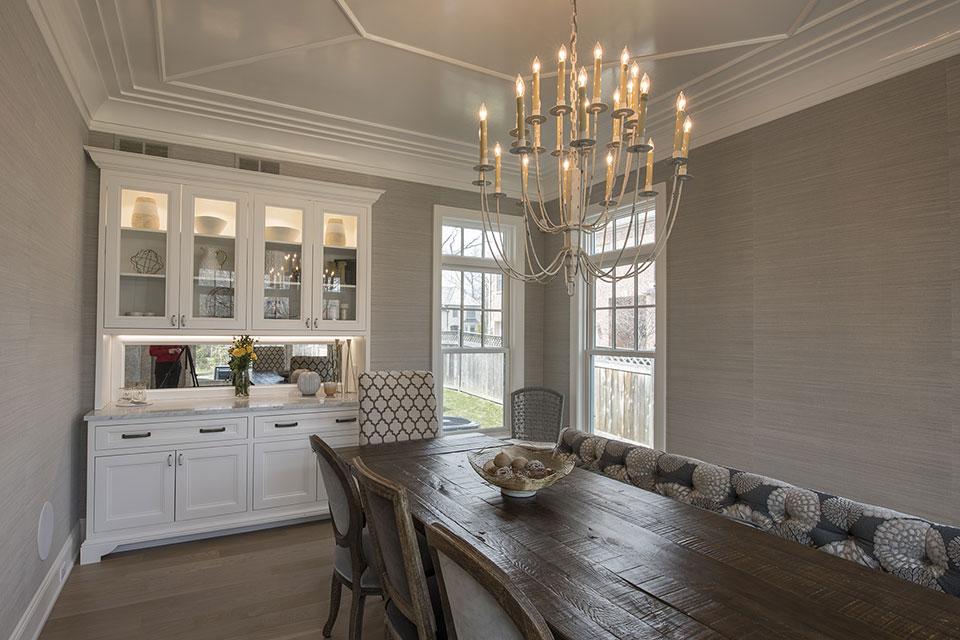 Glenview-Coastal - Dining Room - Globex Developments Custom Homes
