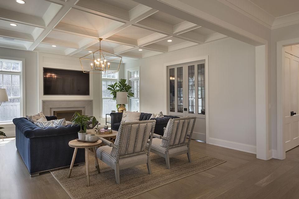 Glenview-Coastal - Family Room, Side View - Globex Developments Custom Homes