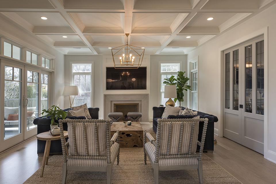 Glenview-Coastal - Family Room - Globex Developments Custom Homes