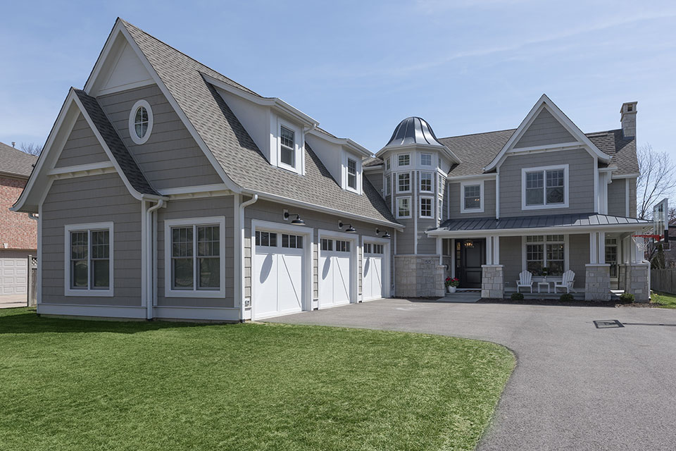 Glenview-Coastal - Front-Elevation - Globex Developments Custom Homes