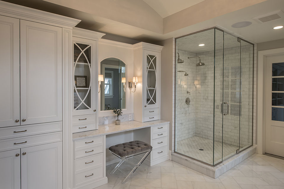 Glenview-Coastal - Master-Bathroom-Shower - Globex Developments Custom Homes