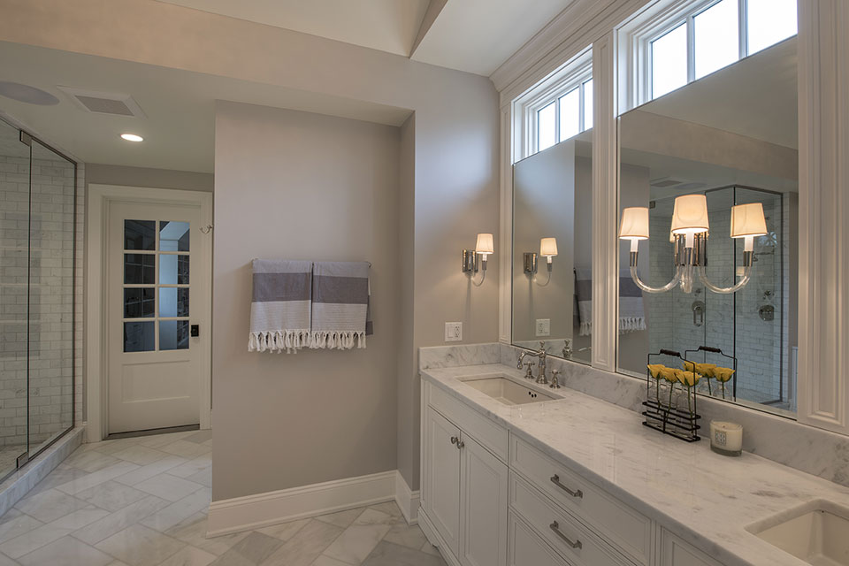Glenview-Coastal - Master-Bathroom-Vanity - Globex Developments Custom Homes
