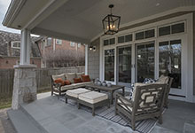 Glenview-Coastal - Back Porch - Globex Developments Custom Homes
