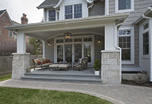 Glenview-Coastal - Backyard, Porch - Globex Developments Custom Homes