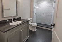Glenview-Coastal - Basement Bathroom - Globex Developments Custom Homes