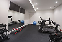 Glenview-Coastal - Basement Gym - Globex Developments Custom Homes