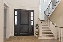 Glenview-Coastal - DB 301PW 2SL Front Door, Interior - Globex Developments Custom Homes