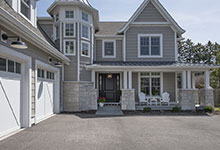Glenview-Coastal - Front Entrance - Globex Developments Custom Homes