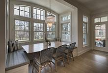 Glenview-Coastal - Kitchen, Window Breakfast Area - Globex Developments Custom Homes