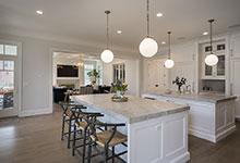 Glenview-Coastal - Kitchen Family Room View - Globex Developments Custom Homes