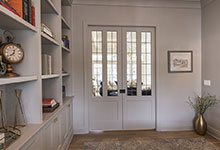 Glenview-Coastal - Library Door - Globex Developments Custom Homes