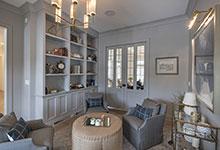 Glenview-Coastal - Library Room - Globex Developments Custom Homes