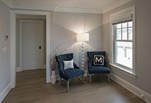 Glenview-Coastal - Master Bathroom, Sitting Area - Globex Developments Custom Homes