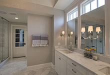 Glenview-Coastal - Master Bathroom Vanity - Globex Developments Custom Homes