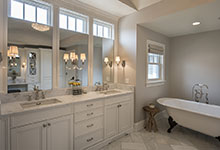 Glenview-Coastal - Master Bathroom - Globex Developments Custom Homes