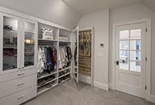 Glenview-Coastal - Master Bedroom Closet, Jewerly Storage - Globex Developments Custom Homes