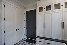 Glenview-Coastal - Mudroom Entry Door, Closet Double Doors - Globex Developments Custom Homes