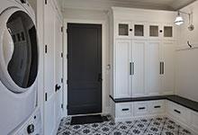 Glenview-Coastal - Mudroom Entry Door - Globex Developments Custom Homes