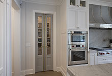 Glenview-Coastal - Pantry Door Close - Globex Developments Custom Homes