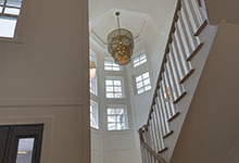 Glenview-Coastal - Stairs, Chandelier - Globex Developments Custom Homes