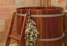 ST-House - Basement-Sauna-Barrel - Globex Developments Custom Homes