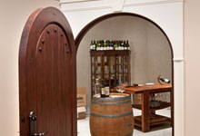 ST-House - Basement-WineryEntrance - Globex Developments Custom Homes