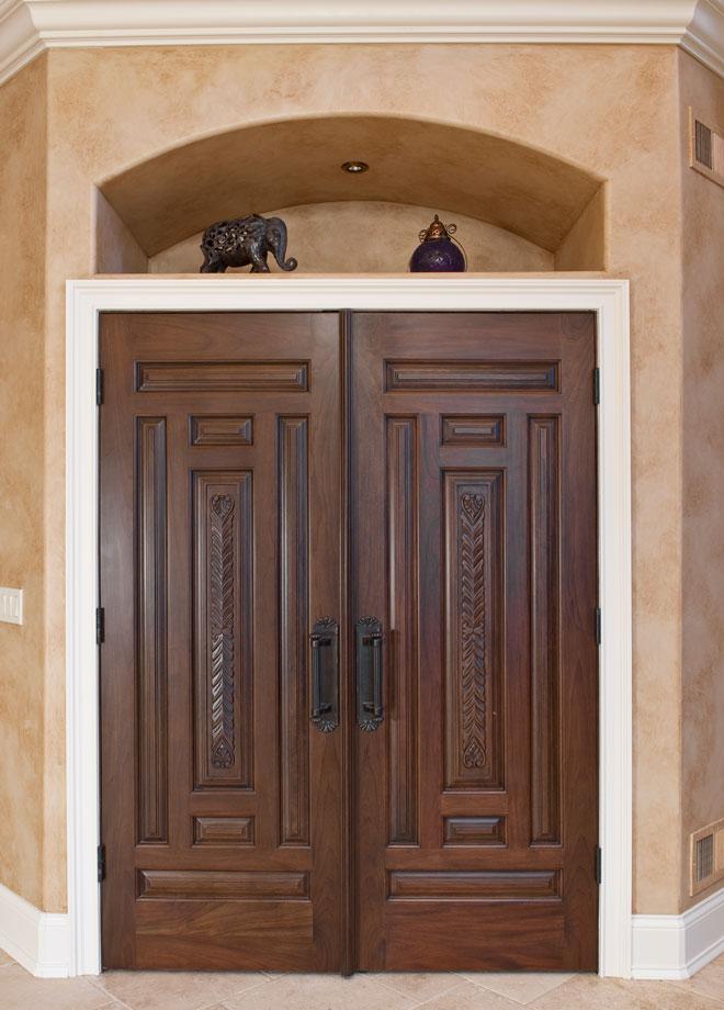 Wood interior doors images 30 in x 80 in 1 lite for Interior door suppliers