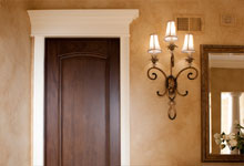 ST-House - PowderRoom-Door - Globex Developments Custom Homes