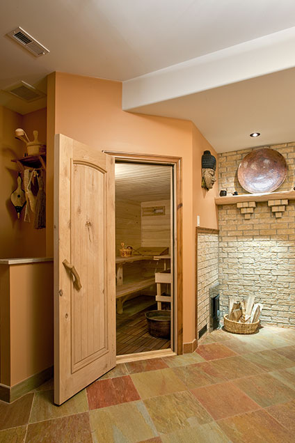 ST-House - Basement-Sauna - Globex Developments Custom Homes