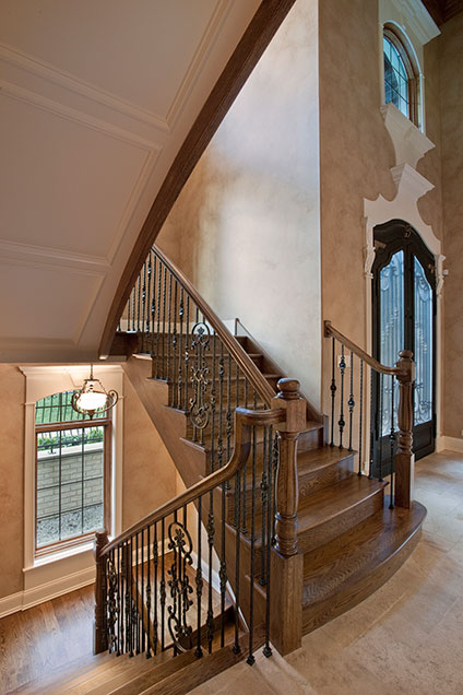 ST-House - Entrance-Stairs - Globex Developments Custom Homes